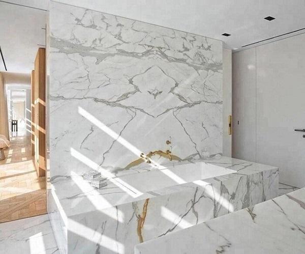 đá marble phòng bếp