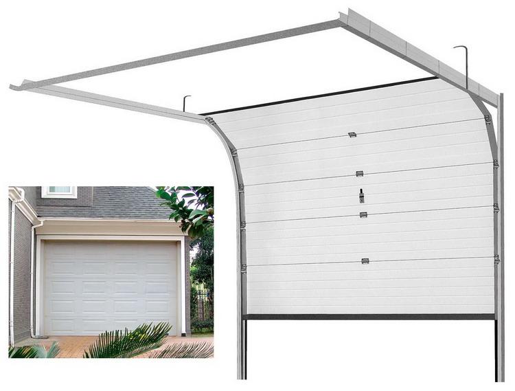 Cửa trượt trần là dòng cửa cuốn chuyên dùng cho các gara ô tô