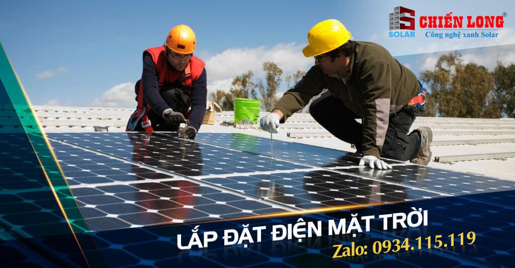 Lắp đặt điện năng lượng mặt trời có công suất phù hợp cho gia đình