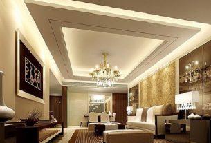 Trần thạch cao mang tính thẩm mỹ cao cho nội thất ngôi nhà