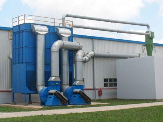 Hệ thống lọc bụi công nghiệp cần phải được bảo dưỡng thường xuyên