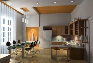 Lưu ý kỹ trước khi lắp đặt trần thạch cao cho nhà bếp