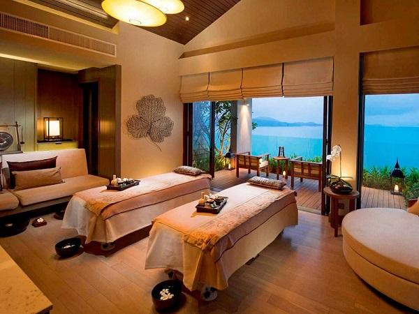 Nội thất cho khách sạn nghỉ dưỡng khu vực thư giãn, đẹp mắt