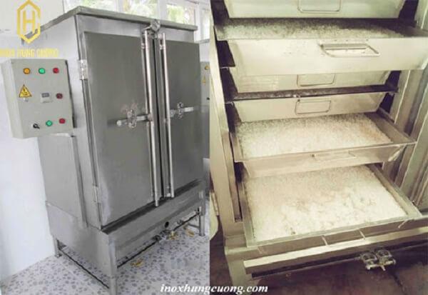 Tủ nấu cơm bằng điện công nghiệp chất lượng.