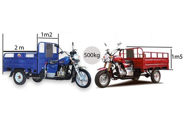 Xe ba gác có tính linh động cao