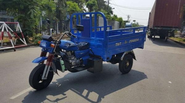 Xe ba gác vận chuyển hàng an toàn
